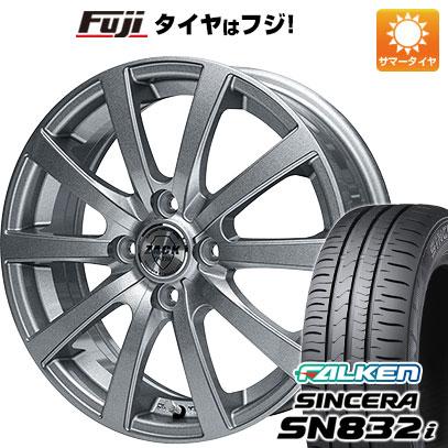 タイヤはフジ 送料無料 MONZA モンツァ ZACK JP-110 10スポーク 4.5J 4.50-14 FALKEN シンセラ SN832i 165/65R14 14インチ サマータイヤ ホイール4本セット