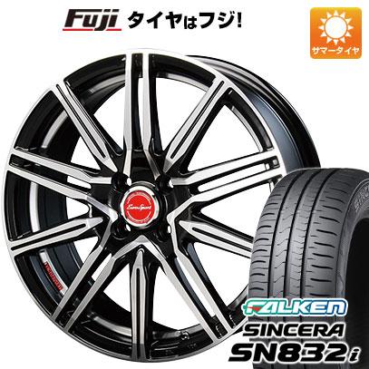 タイヤはフジ 送料無料 BLEST ブレスト ユーロスポーツ タイプレグルス A1 5J 5.00-15 FALKEN シンセラ SN832i 165/55R15 15インチ サマータイヤ ホイール4本セット