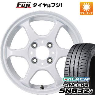 タイヤはフジ 送料無料 カジュアルセット タイプL 2. 5J 5.00-14 FALKEN シンセラ SN832i 165/65R14 14インチ サマータイヤ ホイール4本セット