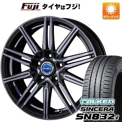 タイヤはフジ 送料無料 BLEST ブレスト ユーロスポーツ レグルス A1 5J 5.00-15 FALKEN シンセラ SN832i 165/55R15 15インチ サマータイヤ ホイール4本セット