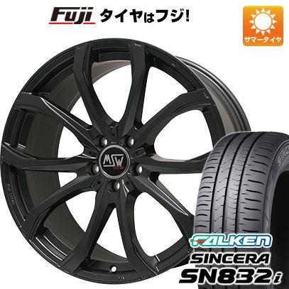 タイヤはフジ 送料無料 MSW by OZ Racing MSW 48(マットブラック) 6.5J 6.50-16 FALKEN シンセラ SN832i 205/60R16 16インチ サマータイヤ ホイール4本セット