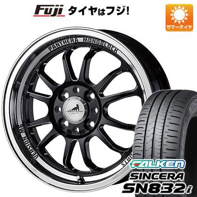 タイヤはフジ 送料無料 5ZIGEN ゴジゲン パンテーラ バージョンM6 5J 5.00-15 FALKEN シンセラ SN832i 165/55R15 15インチ サマータイヤ ホイール4本セット