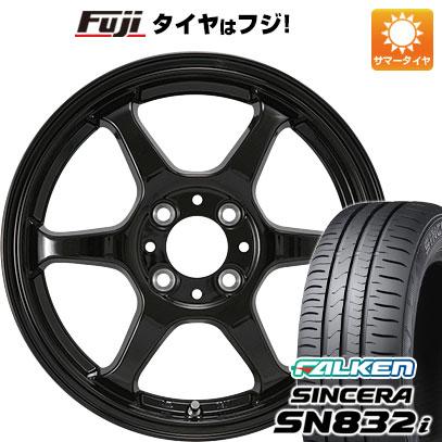 タイヤはフジ 送料無料 カジュアルセット タイプL 2. 4.5J 4.50-14 FALKEN シンセラ SN832i 155/65R14 14インチ サマータイヤ ホイール4本セット