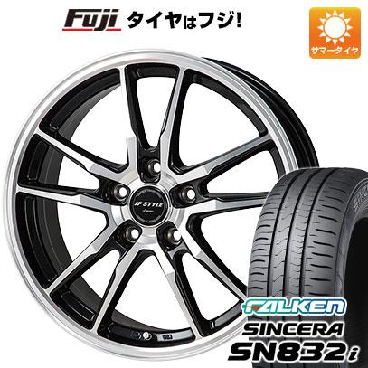 タイヤはフジ 送料無料 MONZA モンツァ JPスタイルクレーヴァー 6J 6.00-15 FALKEN シンセラ SN832i 195/65R15 15インチ サマータイヤ ホイール4本セット