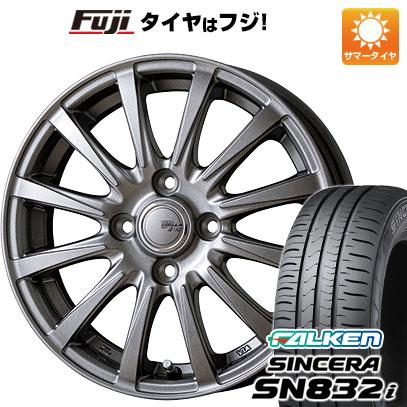 タイヤはフジ 送料無料 TOPY トピー シビラ NEXT B-12 5.5J 5.50-15 FALKEN シンセラ SN832i 185/65R15 15インチ サマータイヤ ホイール4本セット
