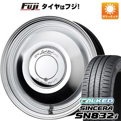 タイヤはフジ 送料無料 WORK ワーク レッドスレッド 4.5J 4.50-14 FALKEN シンセラ SN832i 165/65R14 14インチ サマータイヤ ホイール4本セット