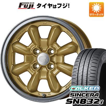 タイヤはフジ 送料無料 ENKEI エンケイ allシリーズ オールエイティーン コンペ 6J 6.00-15 FALKEN シンセラ SN832i 185/55R15 15インチ サマータイヤ ホイール4本セット