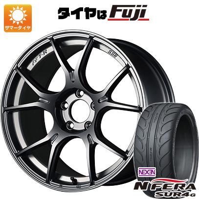 【送料無料】 235/40R18 18インチ SSR GTX02 8.5J 8.50-18 NEXEN ネクセン エヌフィラ SUR4G(限定) サマータイヤ ホイール4本セット