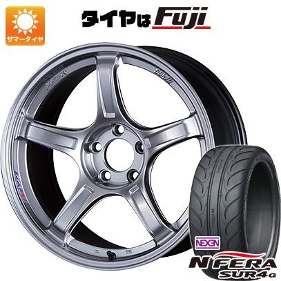 【送料無料】 235/40R18 18インチ SSR GTX03 8J 8.00-18 NEXEN ネクセン エヌフィラ SUR4G(限定) サマータイヤ ホイール4本セット