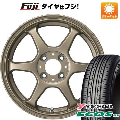 タイヤはフジ 送料無料 カジュアルセット タイプL 2. 5J 5.00-14 YOKOHAMA エコス ES31 165/65R14 14インチ サマータイヤ ホイール4本セット