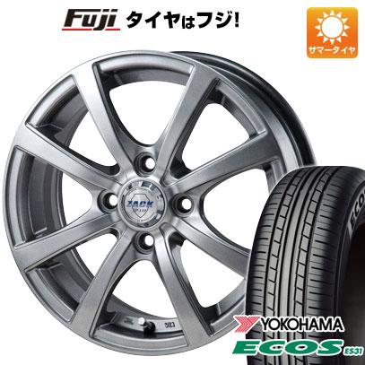 タイヤはフジ 送料無料 MONZA モンツァ ZACK JP-110 8スポーク 5J 5.00-13 YOKOHAMA エコス ES31 165/80R13 13インチ サマータイヤ ホイール4本セット