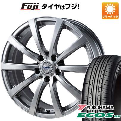 8月 2・5・8日はポイント倍増! タイヤはフジ 送料無料 MONZA モンツァ ZACK JP-110 10スポーク 6.5J 6.50-16 YOKOHAMA エコス ES31 205/60R16 16インチ サマータイヤ ホイール4本セット