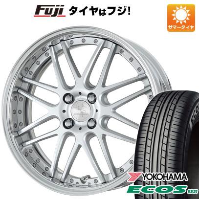 タイヤはフジ 送料無料 WORK ワーク リザルタード メッシュ 6.5J 6.50-16 YOKOHAMA エコス ES31 185/55R16 16インチ サマータイヤ ホイール4本セット