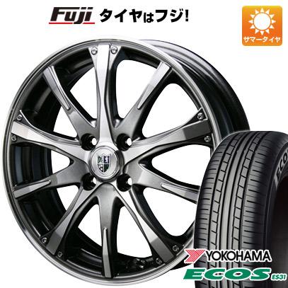 タイヤはフジ 送料無料 BLEST ブレスト バーンシュポルト タイプ504 7J 7.00-17 YOKOHAMA エコス ES31 205/50R17 17インチ サマータイヤ ホイール4本セット