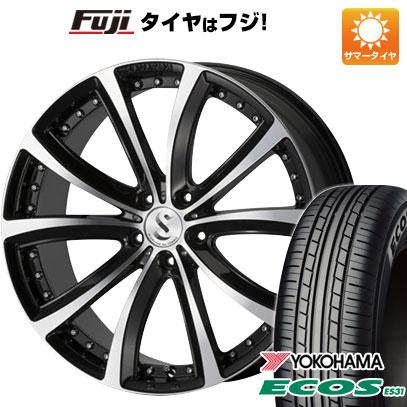 タイヤはフジ 送料無料 VENERDI サヴァティーニ アヴァンティ 7.5J 7.50-18 YOKOHAMA エコス ES31 215/45R18 18インチ サマータイヤ ホイール4本セット