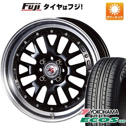 タイヤはフジ 送料無料 CRIMSON クリムソン RS WP MAXIモノブロック 6J 6.00-16 YOKOHAMA エコス ES31 175/60R16 16インチ サマータイヤ ホイール4本セット
