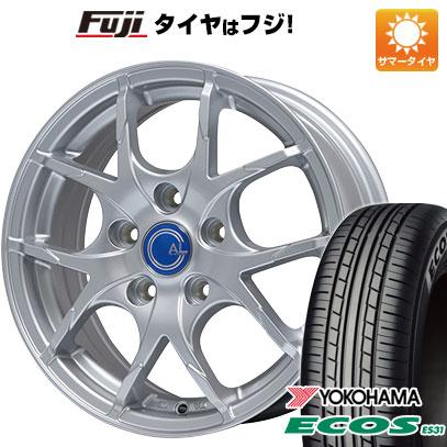 タイヤはフジ 送料無料 BRANDLE ブランドル M69 7.5J 7.50-18 YOKOHAMA エコス ES31 225/45R18 18インチ サマータイヤ ホイール4本セット