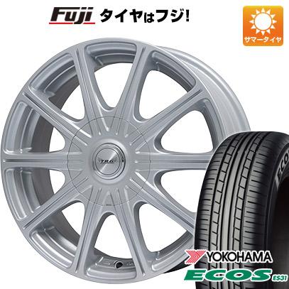タイヤはフジ 送料無料 BIGWAY ビッグウエイ TRG MP10 5.5J 5.50-14 YOKOHAMA エコス ES31 175/65R14 14インチ サマータイヤ ホイール4本セット