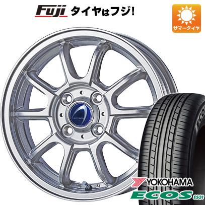 タイヤはフジ 送料無料 TECHNOPIA テクノピア アルテミス LSW 5.5J 5.50-14 YOKOHAMA エコス ES31 165/65R14 14インチ サマータイヤ ホイール4本セット