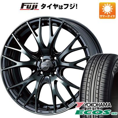 タイヤはフジ 送料無料 WEDS ウェッズスポーツ SA-20R 6.5J 6.50-16 YOKOHAMA エコス ES31 185/55R16 16インチ サマータイヤ ホイール4本セット
