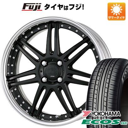 タイヤはフジ 送料無料 WORK ワーク リザルタード スポーク2 6.5J 6.50-16 YOKOHAMA エコス ES31 185/55R16 16インチ サマータイヤ ホイール4本セット