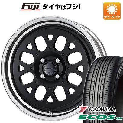 タイヤはフジ 送料無料 WORK ワーク シーカー GX 6.5J 6.50-16 YOKOHAMA エコス ES31 195/60R16 16インチ サマータイヤ ホイール4本セット