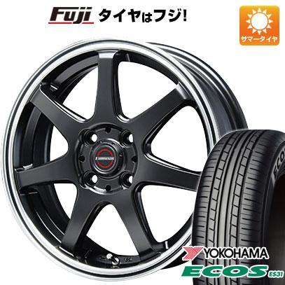 タイヤはフジ 送料無料 BLEST ブレスト ユーロマジック タイプS-07 6J 6.00-16 YOKOHAMA エコス ES31 175/60R16 16インチ サマータイヤ ホイール4本セット