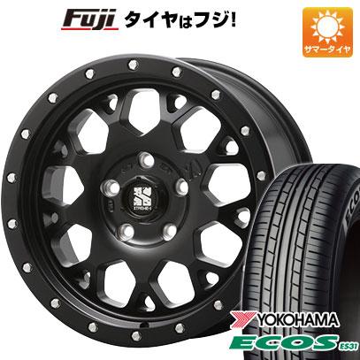 タイヤはフジ 送料無料 MLJ エクストリームJ XJ04 4.5J 4.50-14 YOKOHAMA エコス ES31 165/55R14 14インチ サマータイヤ ホイール4本セット