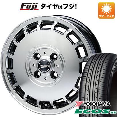 タイヤはフジ 送料無料 BLEST ブレスト バーンズテック KTストリーム 4.5J 4.50-14 YOKOHAMA エコス ES31 165/55R14 14インチ サマータイヤ ホイール4本セット