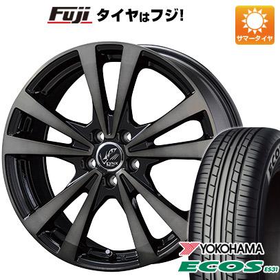 タイヤはフジ 送料無料 KOSEI コーセイ プラウザー リンクスBC 6.5J 6.50-16 YOKOHAMA エコス ES31 205/60R16 16インチ サマータイヤ ホイール4本セット