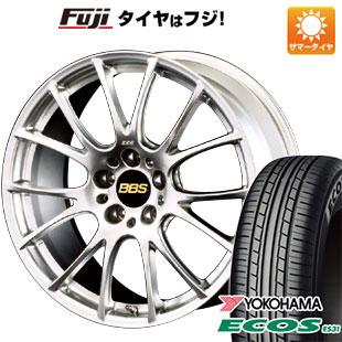 タイヤはフジ 送料無料 BBS JAPAN BBS RE-V 7.5J 7.50-18 YOKOHAMA エコス ES31 215/45R18 18インチ サマータイヤ ホイール4本セット