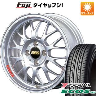 タイヤはフジ 送料無料 BBS JAPAN BBS RG-F 5.5J 5.50-15 YOKOHAMA エコス ES31 165/55R15 15インチ サマータイヤ ホイール4本セット