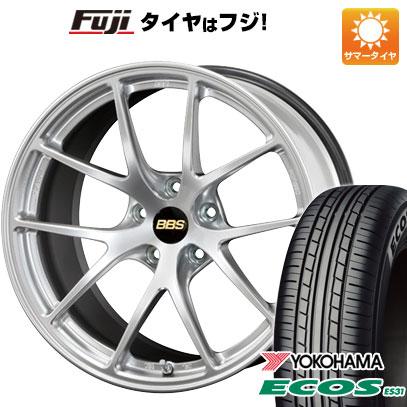タイヤはフジ 送料無料 BBS JAPAN BBS RI-A 7.5J 7.50-18 YOKOHAMA エコス ES31 225/45R18 18インチ サマータイヤ ホイール4本セット
