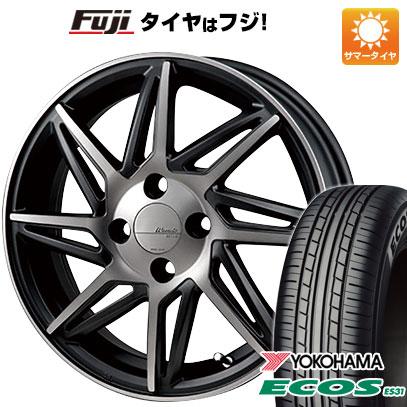 タイヤはフジ 送料無料 ソリオ(MA36S) MONZA モンツァ ワーウィック レボックス 4.5J 4.50-15 YOKOHAMA エコス ES31 165/65R15 15インチ サマータイヤ ホイール4本セット
