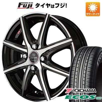 タイヤはフジ 送料無料 KYOHO 共豊 スマック プライム ヴァニッシュ 4.5J 4.50-14 YOKOHAMA エコス ES31 165/65R14 14インチ サマータイヤ ホイール4本セット