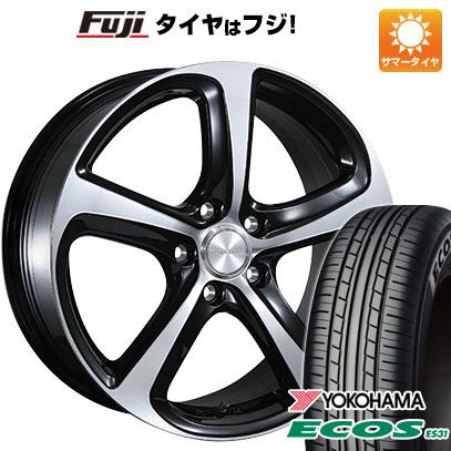 タイヤはフジ 送料無料 BRIDGESTONE ブリヂストン バルミナ Z5 7J 7.00-17 YOKOHAMA エコス ES31 215/45R17 17インチ サマータイヤ ホイール4本セット