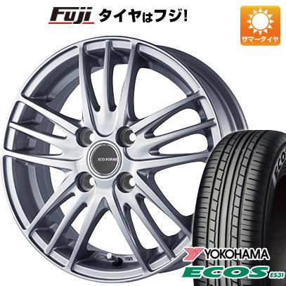 タイヤはフジ 送料無料 BRIDGESTONE ブリヂストン エコフォルム SE-18 5.5J 5.50-15 YOKOHAMA エコス ES31 175/65R15 15インチ サマータイヤ ホイール4本セット