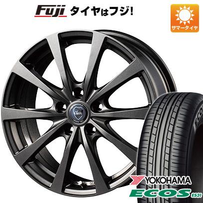 タイヤはフジ 送料無料 INTER MILANO インターミラノ クレール RG10 6.5J 6.50-16 YOKOHAMA エコス ES31 205/55R16 16インチ サマータイヤ ホイール4本セット