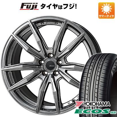 タイヤはフジ 送料無料 MONZA モンツァ Rバージョンブロッカー 5.5J 5.50-15 YOKOHAMA エコス ES31 185/65R15 15インチ サマータイヤ ホイール4本セット