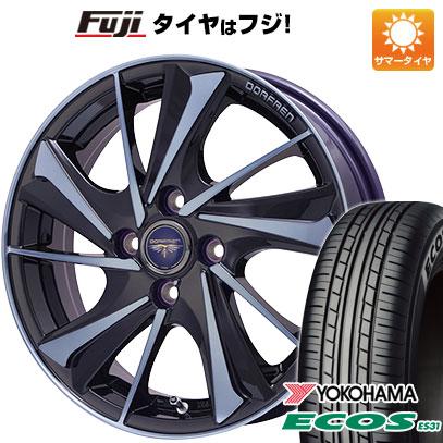 タイヤはフジ 送料無料 ソリオ(MA36S) TOPY トピー ドルフレン ヴァルネ Limited 4.5J 4.50-15 YOKOHAMA エコス ES31 165/65R15 15インチ サマータイヤ ホイール4本セット