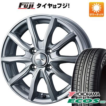 タイヤはフジ 送料無料 WEDS ウェッズ ジョーカー シェイク 5.5J 5.50-14 YOKOHAMA エコス ES31 175/65R14 14インチ サマータイヤ ホイール4本セット
