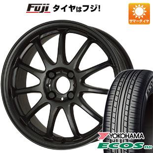タイヤはフジ 送料無料 WORK ワーク エモーション 11R 5J 5.00-15 YOKOHAMA エコス ES31 165/50R15 15インチ サマータイヤ ホイール4本セット
