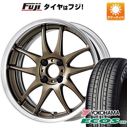 タイヤはフジ 送料無料 WORK ワーク エモーション CR 2P 6J 6.00-16 YOKOHAMA エコス ES31 175/60R16 16インチ サマータイヤ ホイール4本セット