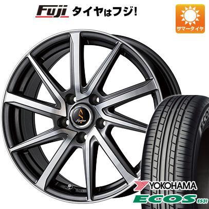 タイヤはフジ 送料無料 WORK ワーク セプティモ G01 ダークグレーポリッシュ 7J 7.00-17 YOKOHAMA エコス ES31 215/50R17 17インチ サマータイヤ ホイール4本セット