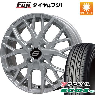 タイヤはフジ 送料無料 BRANDLE ブランドル TM20 6.5J 6.50-16 YOKOHAMA エコス ES31 195/55R16 16インチ サマータイヤ ホイール4本セット