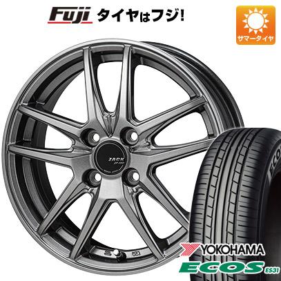 【送料無料】 155/65R14 14インチ MONZA モンツァ ZACK JP-550 4.5J 4.50-14 YOKOHAMA ヨコハマ エコス ES31 サマータイヤ ホイール4本セット