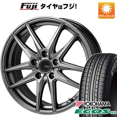 【送料無料】 225/45R18 18インチ MONZA ZACK JP-550 8J 8.00-18 YOKOHAMA ヨコハマ エコス ES31 サマータイヤ ホイール4本セット