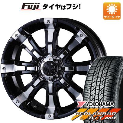 タイヤはフジ 送料無料 CX-5 CRIMSON クリムソン マーテルギア(MG) ビースト 7J 7.00-16 YOKOHAMA ジオランダー A/T G015 RBL 225/70R16 16インチ サマータイヤ ホイール4本セット