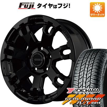 タイヤはフジ 送料無料 RAYS レイズ デイトナ FDX F7 7J 7.00-16 YOKOHAMA ジオランダー A/T G015 OWL/RBL 235/70R16 16インチ サマータイヤ ホイール4本セット
