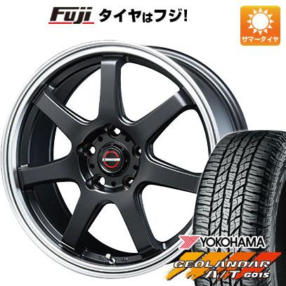 タイヤはフジ 送料無料 BLEST ブレスト ユーロマジック タイプS-07 6.5J 6.50-16 YOKOHAMA ジオランダー A/T G015 RBL 215/70R16 16インチ サマータイヤ ホイール4本セット